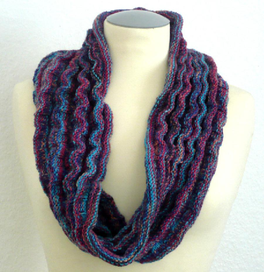 Snood Knitting Kit (includes KnitPro Symfonie Wood needles) with ...